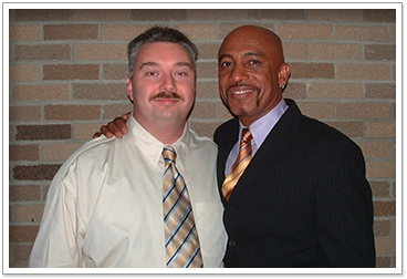 Jeff Pask, Professional Photographer of Ypsilanti, MI, Meets Montel Williams